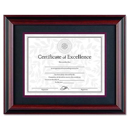 amazon com dax n15786st desk wall plastic document frame insert