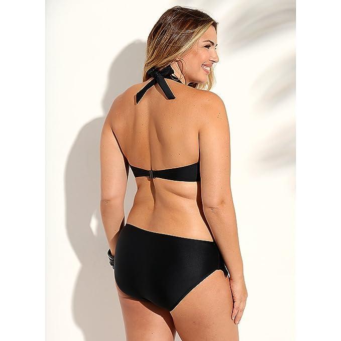 a4fe21a4d VENCA Bikini Liso Sujetador de Copas con Aros y Relleno by Vencastyle