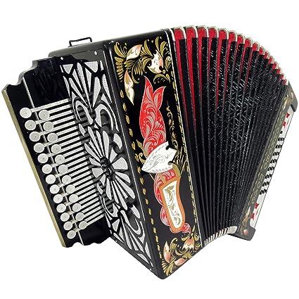 Brand New Russian Tulskaya Garmon Kulikov Field, Kulikovo Pole, Tula  Harmonika, Button Accordion, High-class Musical Instrument, 3-tonal, 2 Rows  25x25