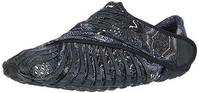 Vibram Men's and Women's Furoshiki Gru Sneaker, Black Paisley, EU:36-37