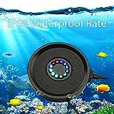 Dxcel LED Aquarium Air Bubble Light Fish Tank Air