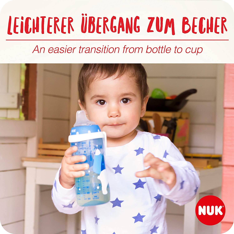 300ml blau ab 12 Monaten 1 St/ück auslaufsicher BPA frei NUK 10255567 Active Cup mit Soft-Trinkt/ülle aus Silikon mint