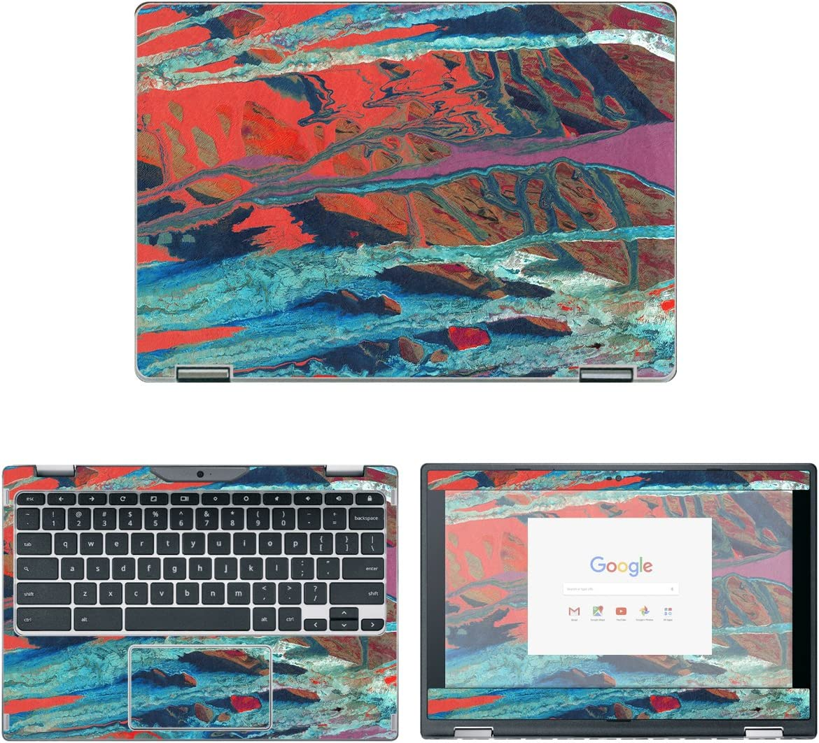 decalrus - Protective Decal Watercolor Skin Sticker for Acer ChromeBook Spin 11 CP311-1HN (11.6