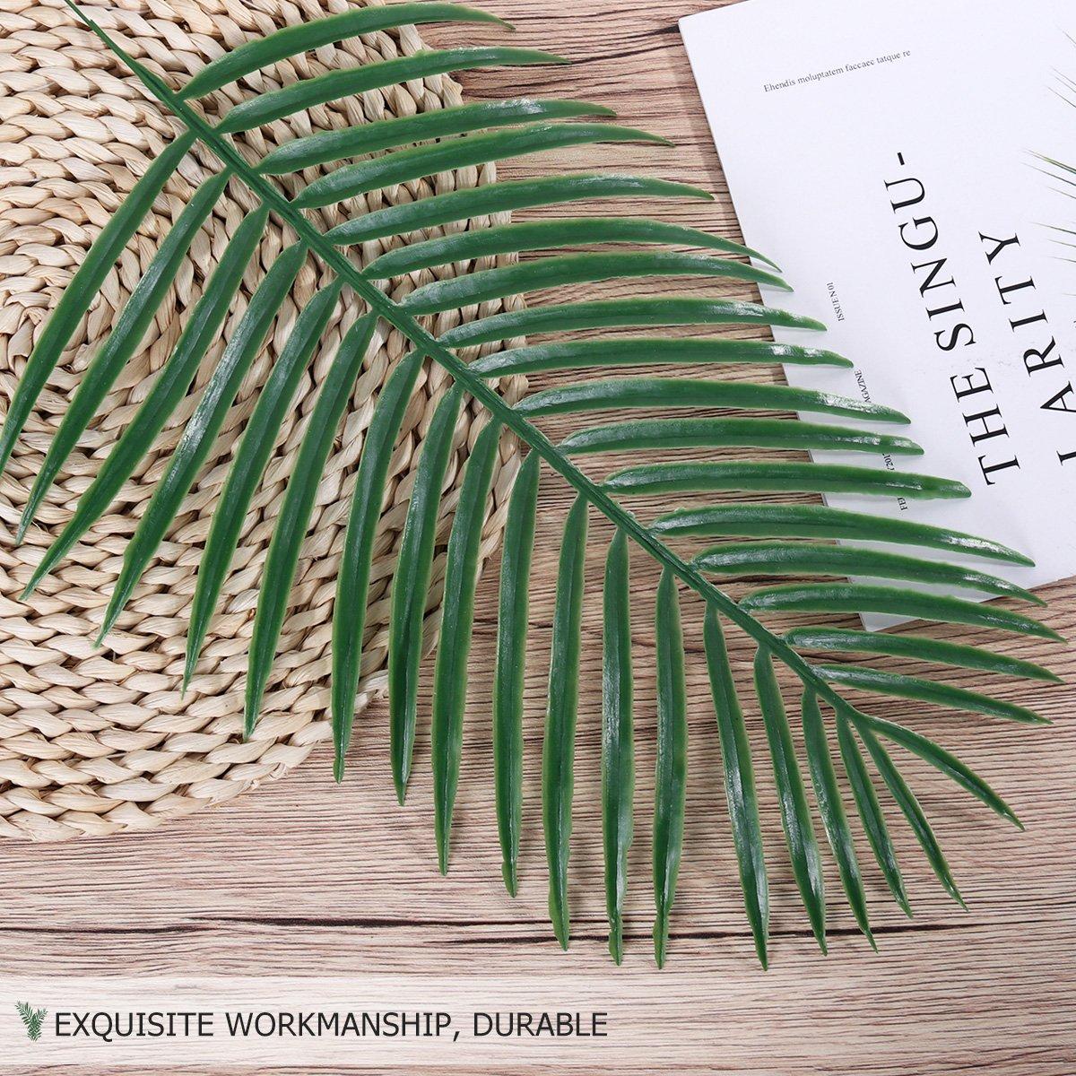 WINOMO 10 Stücke Künstliche Blätter Dekorative Kunststoff ...