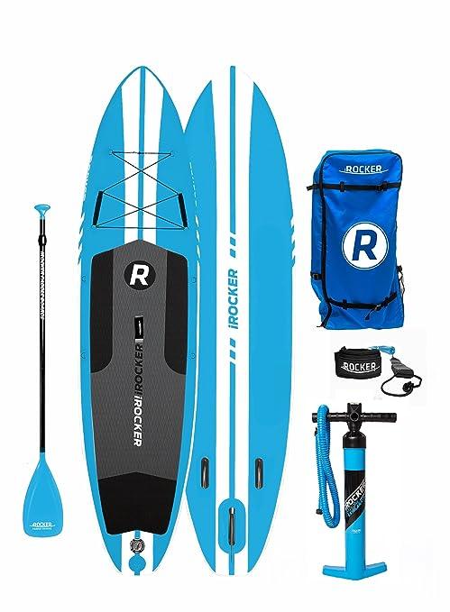 Paquete SUP de tabla de surf de remo hinchable iROCKER ALL-AROUND, 11