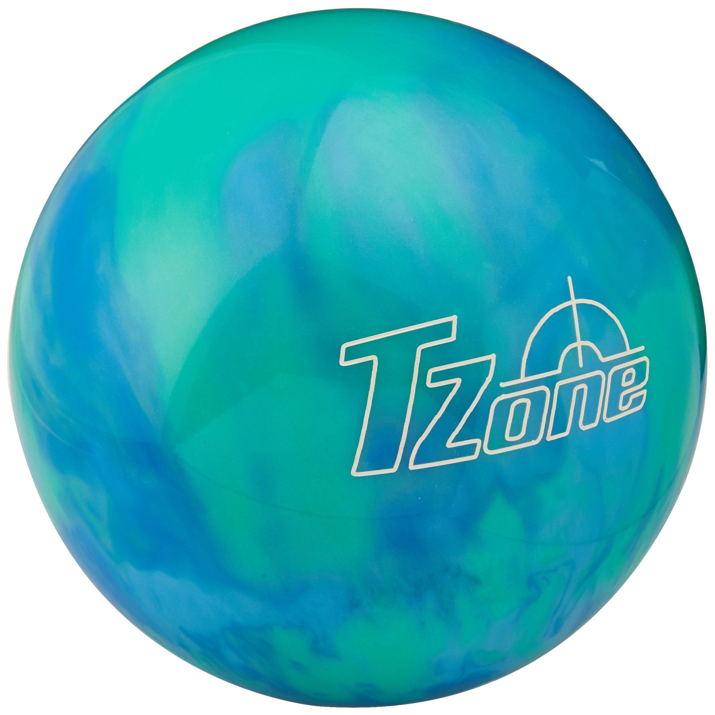 Brunswick TZone Caribbean Blue Bowling Ball (14-Pounds) by Brunswick