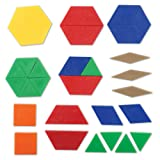 Learning Resources Plastic Pattern Blocks, Shape