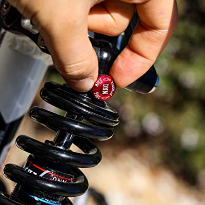 Details about  /DNM MTB Mountain Bike Spring Preload Adjustable Rear Shock Absorber  Black//red