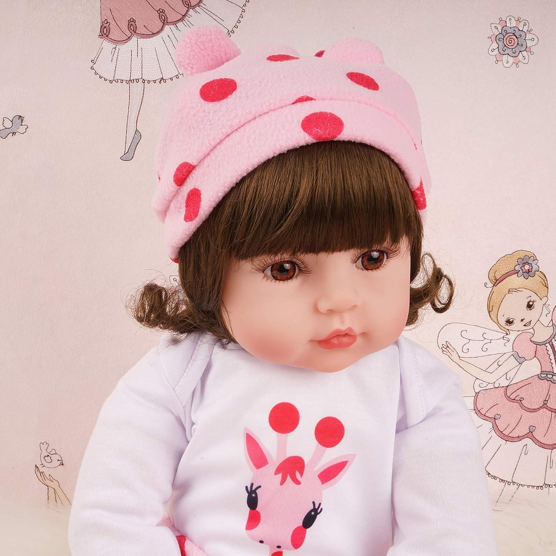 Amazon.com: Reborn Baby Dolls - Muñecas de silicona con ojos ...