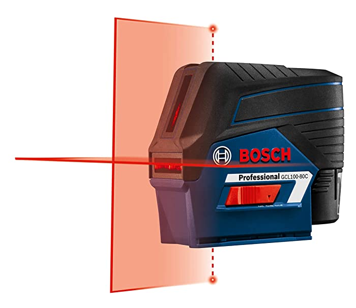 Most compact laser level: Bosch GCL100-80C