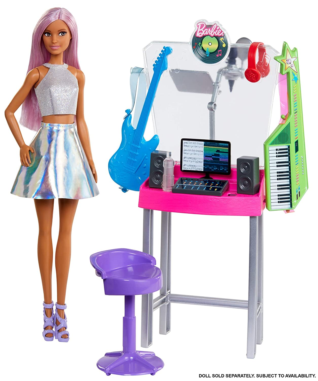 Amazon.com: Barbie Career Places Playsets with Job Themes ...
