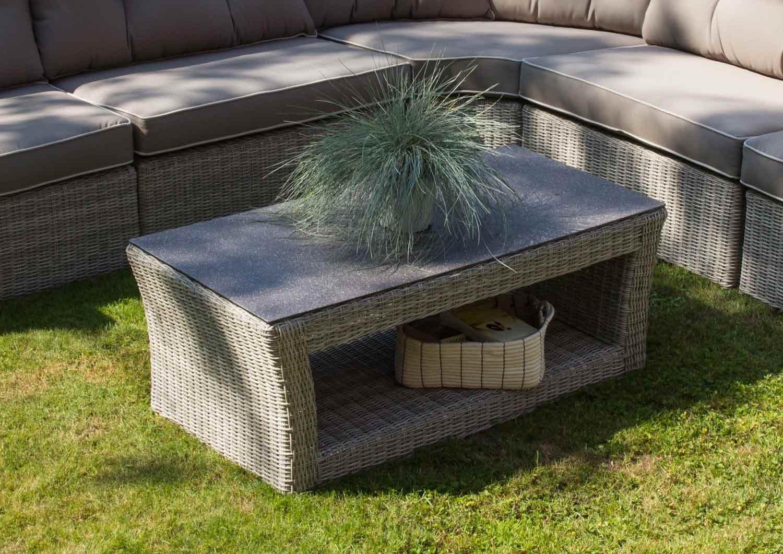 ifestyle4living Loungetisch, Gartentisch, Balkontisch, Terrassentisch,