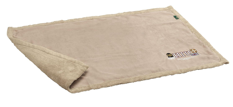 Hunter Dog Blanket University, Large, 120 x 140 cm, Tan Brown