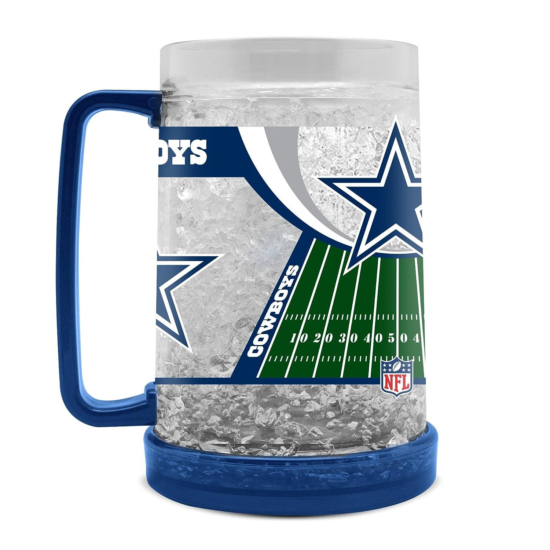 NFL Dallas Cowboys 16oz Crystal Freezer Mug
