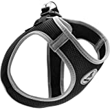 Kruz PET KZA306 Reflective Mesh Dog Harness, No Pull, Quick Fit, Comfortable, Adjustable Pet Vest Harnesses for Walking, Trai
