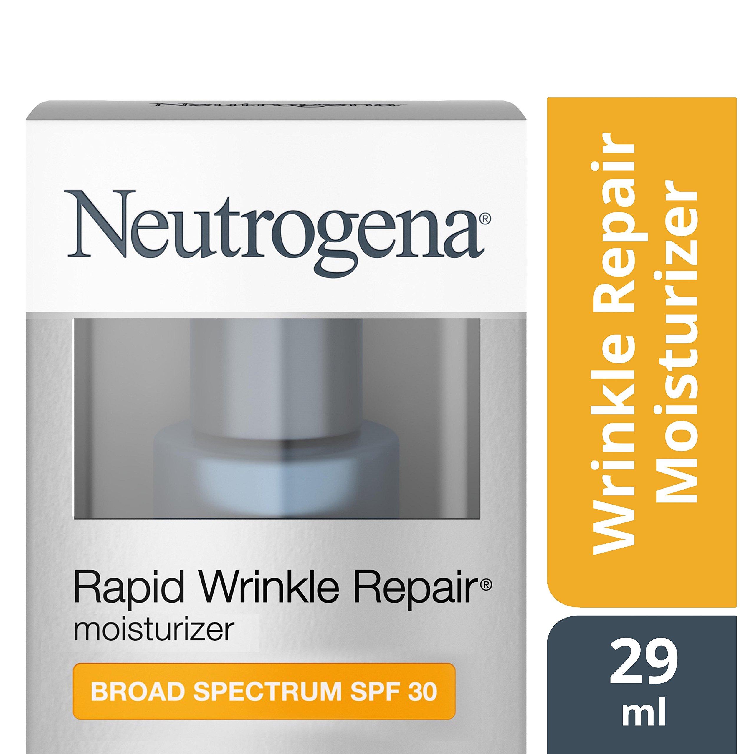 Neutrogena Rapid Wrinkle Repair Anti-Wrinkle Retinol Daily Face Moisturizer, with SPF 30 Sunscreen, 1 fl. Oz by Neutrogena (Image #8)