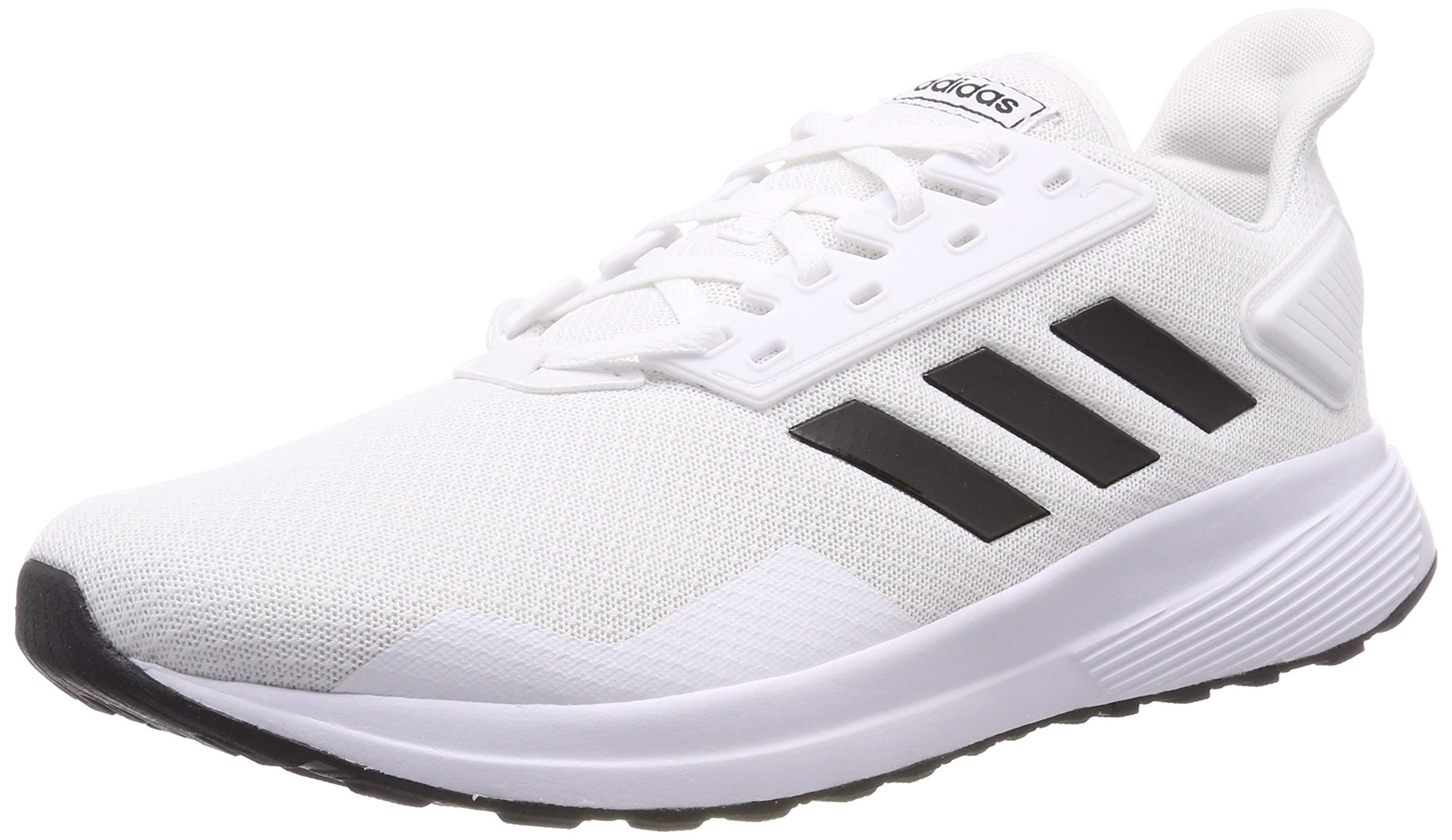 adidas Men Shoes Duramo 9 Core Training Fitness Trainers Road Running New (EU 39 1/3 - UK 6 - US 6.5) White