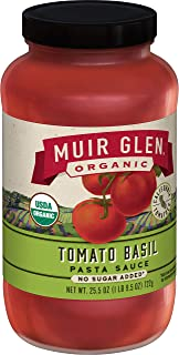 product image for Muir Glen, Organic Tomato Basil Pasta Sauce, 6 Jars, 25.5 oz