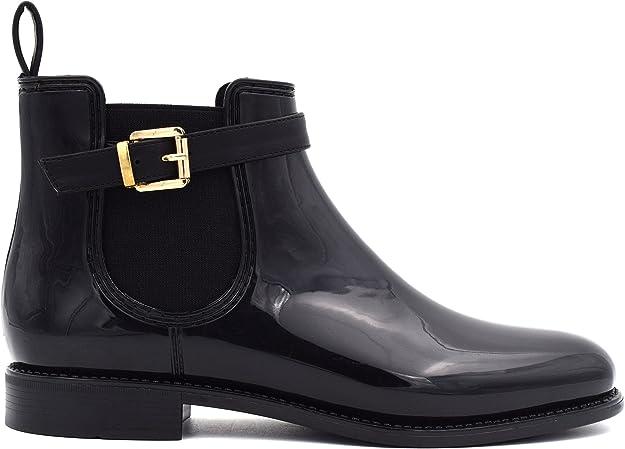 MaxMuxun Women Shoes Waterproof Ankle Chelsea Boots