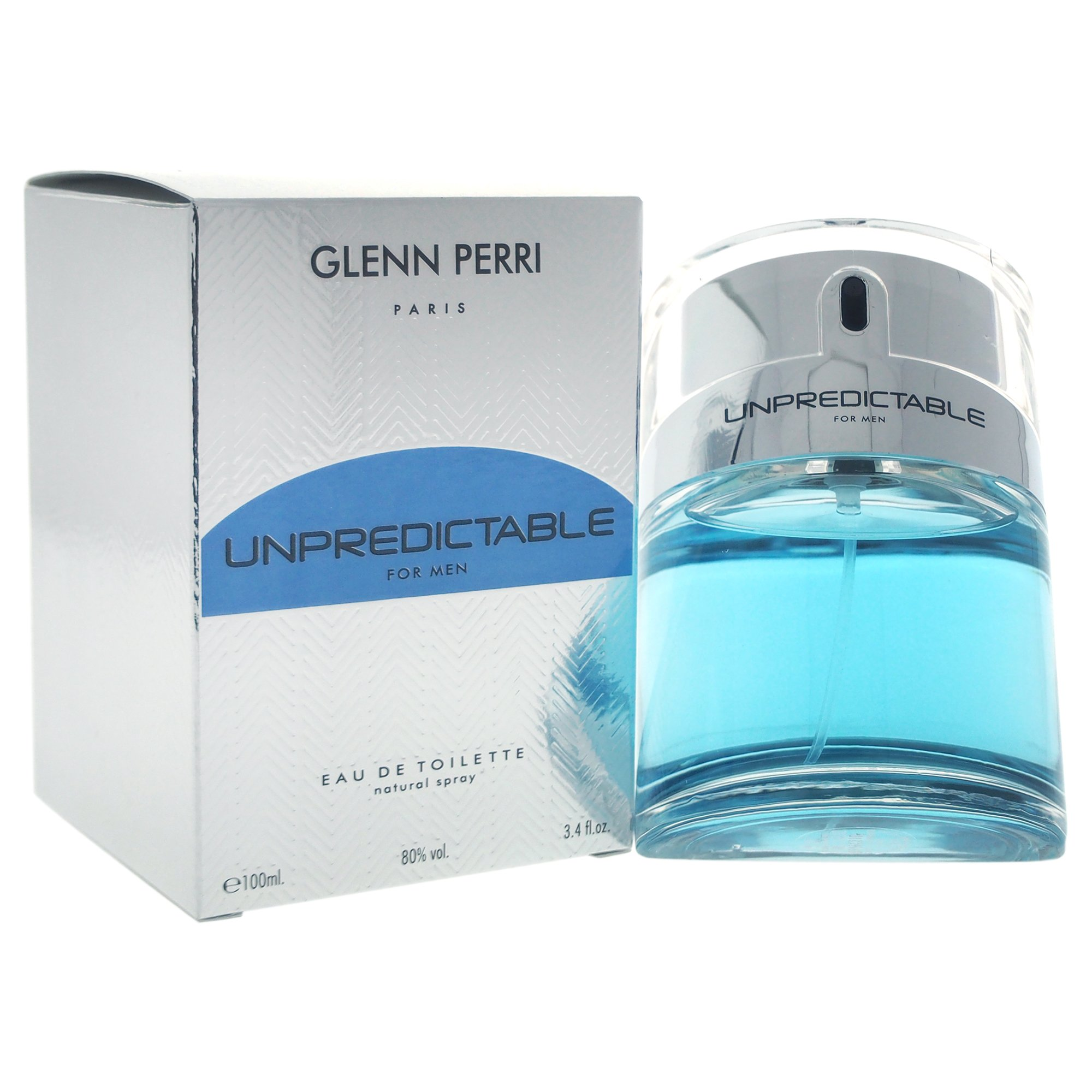 Glenn Perri Unpredictable Eau De Toilette Spray for Men, 3.4 Ounce