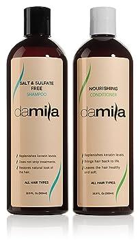Damila Salt & Sulfate Free Shampoo and Conditioner