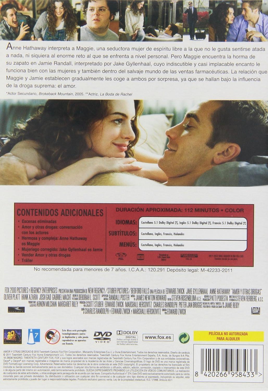 Amor Y Otras Drogas Non Us Format European Format Zone 2 Movies Tv