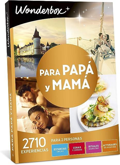 Wonderbox - Caja Regalo para Papa y Mama, 1 Estancia Única o 1 ...