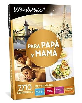 Wonderbox - Caja Regalo para Papa y Mama, 1 Estancia Única o 1 Actividad Gastronómica