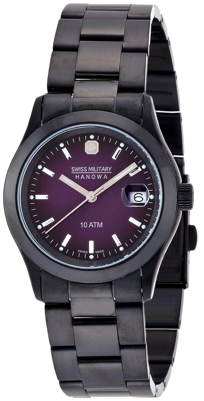 [スイスミリタリー]SWISS MILITARY 腕時計 エレガントブラック ML-189 メンズ [正規輸入品] B000LAZQUI
