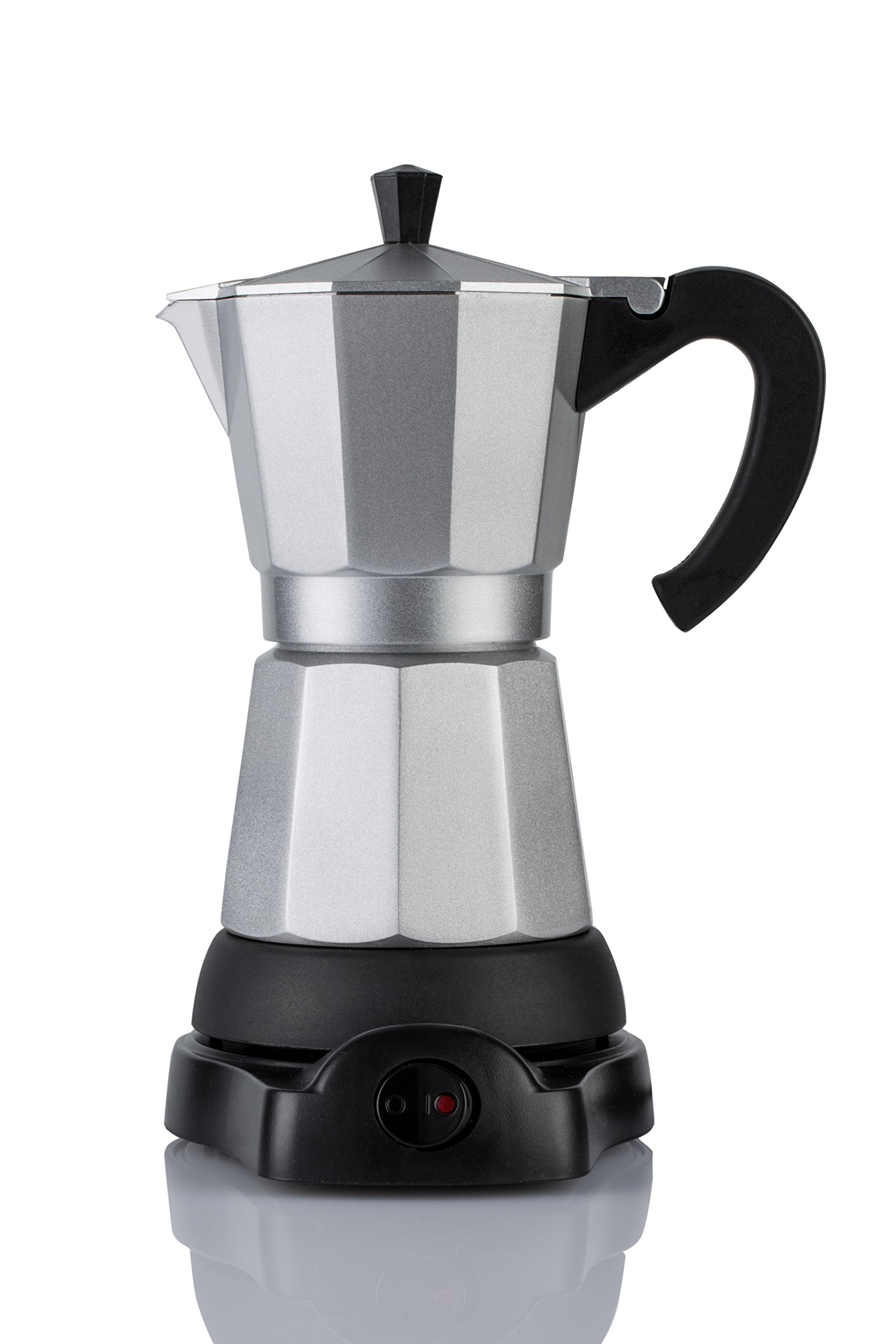 Mandarin-Gear - 6 cup - Electric Espresso coffee/moka stovetop maker 110V US ONLY!