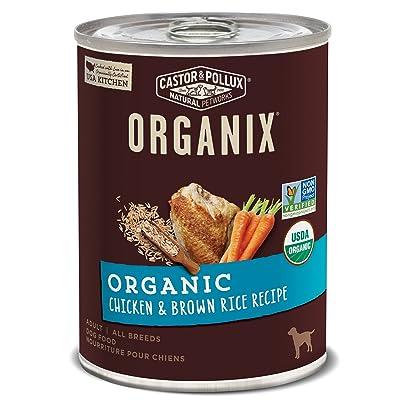 Castor & Pollux Organix Organic Canned Dog Food