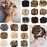 Updo Hairpiece Hair Bun Extension Chignons Hair Piece Clip in Ponytail Extension
