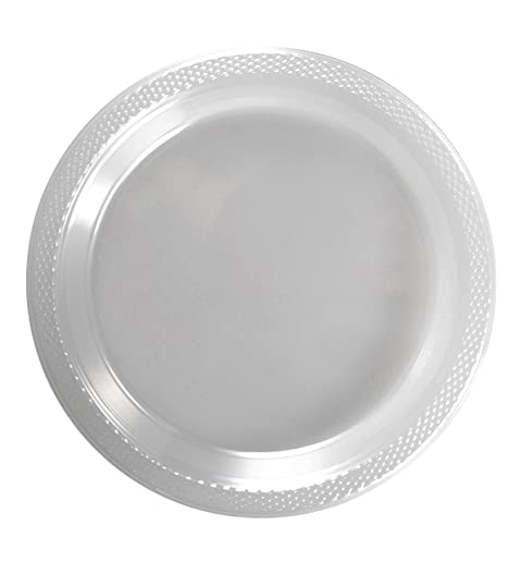 Exquisite 9 Inch. Clear plastic plates - Solid Color Disposable Plates - 100 Count  sc 1 st  Amazon.com & Amazon.com: Exquisite 9 Inch. Clear plastic plates - Solid Color ...