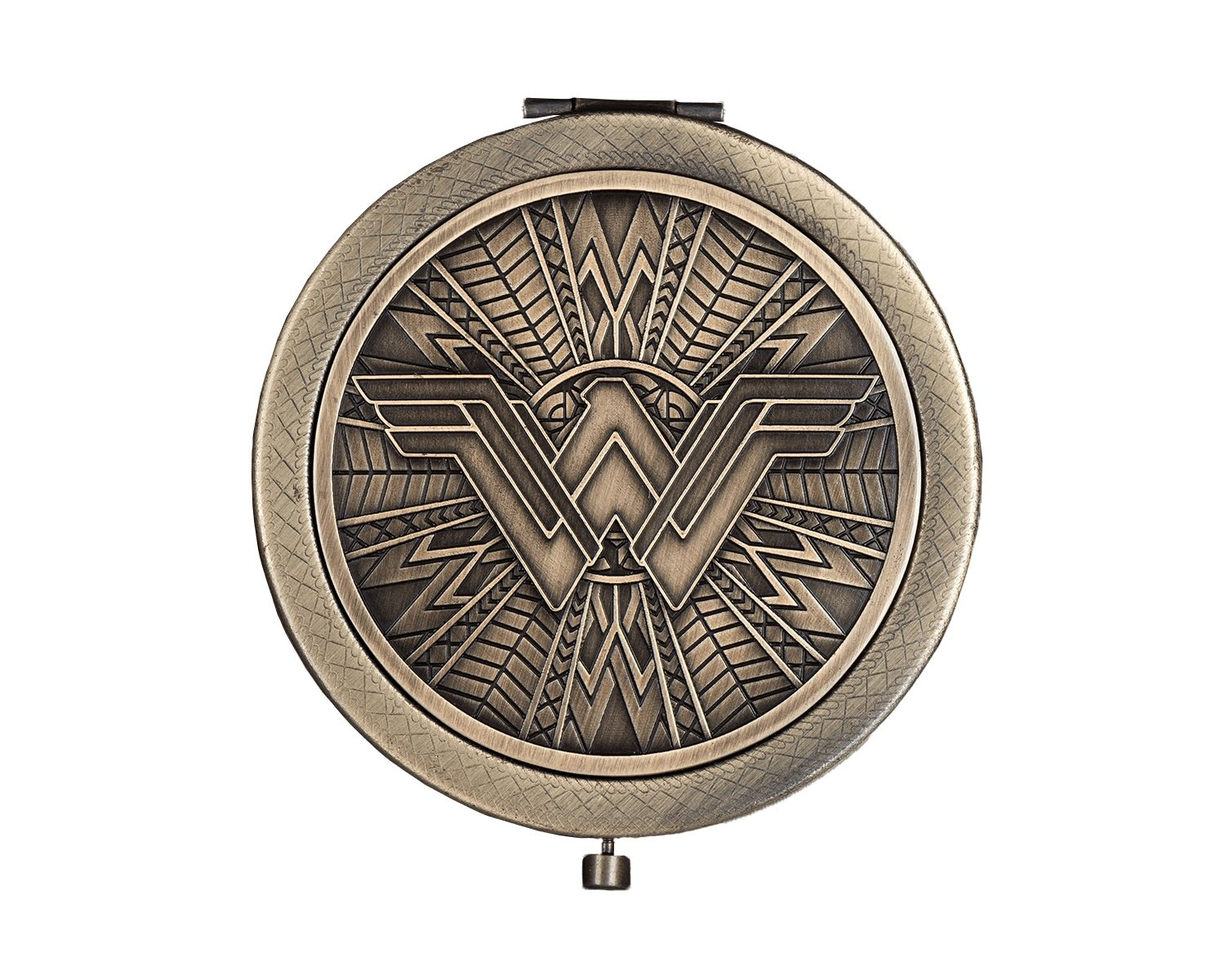 Luxie Beauty - Officially Licensed Wonder Woman 5 Piece Brush Set & Mirror Compact by LUXIE (Image #8)