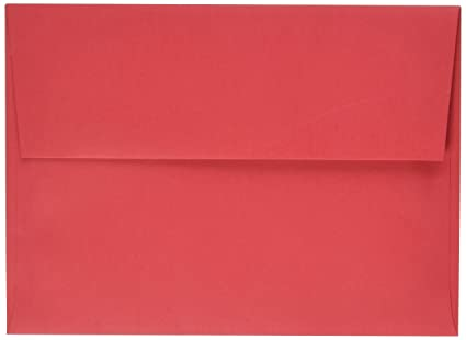 amazon com jam paper a7 invitation envelopes 5 1 4 x 7 1 4