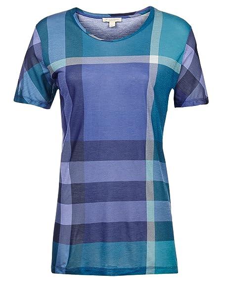 BURBERRY - Camiseta - Blusa - para mujer écossais L