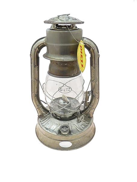 Dietz 8 Air Pilot Oil Burning Lantern Blue