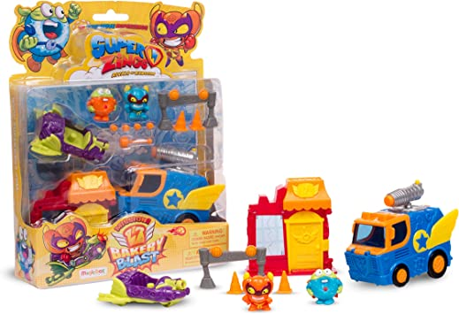 Superzings - Rivals of Kaboom: Bakery Mission (Magic Box Int Toys SZS0401): Amazon.es: Juguetes y juegos