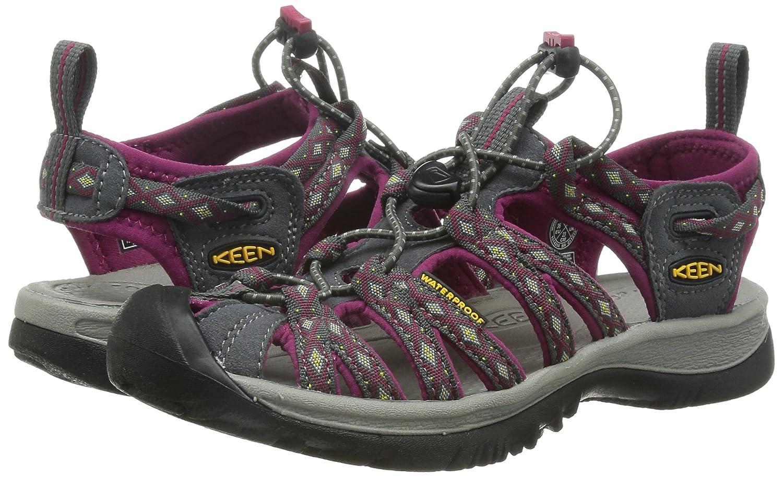 KEEN Whisper Sandal - Women's B00ZG2JH7E 10.5 B(M) US|Magnet/Sangria