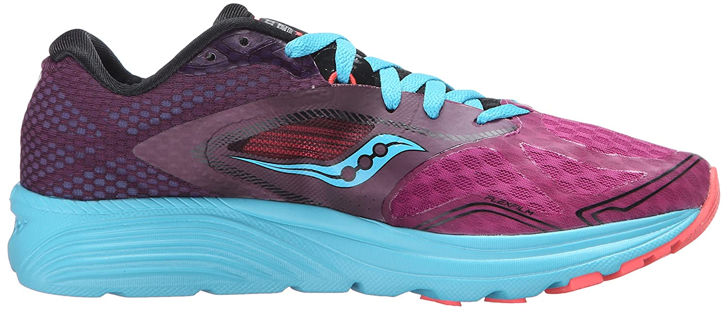 Saucony Women's Kinvara 7 Running Shoe B018F1H9TU 7.5 B(M) US|Pink/Purple/Blue