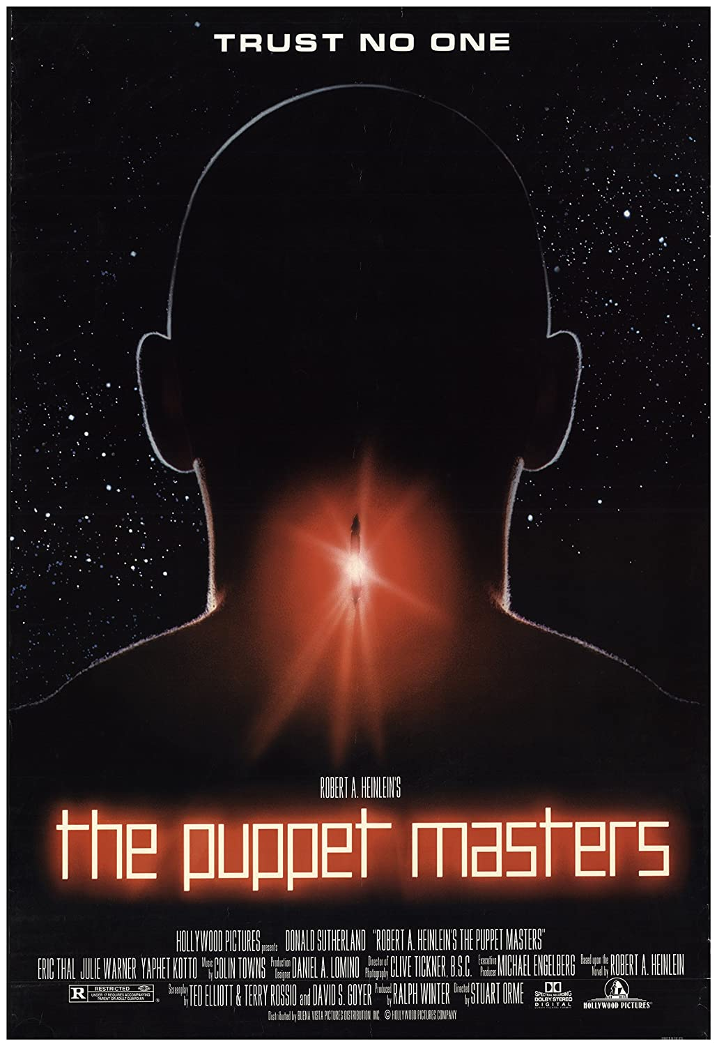 The Puppet Masters 1994 Authentic 27 X 40 Original Movie Poster
