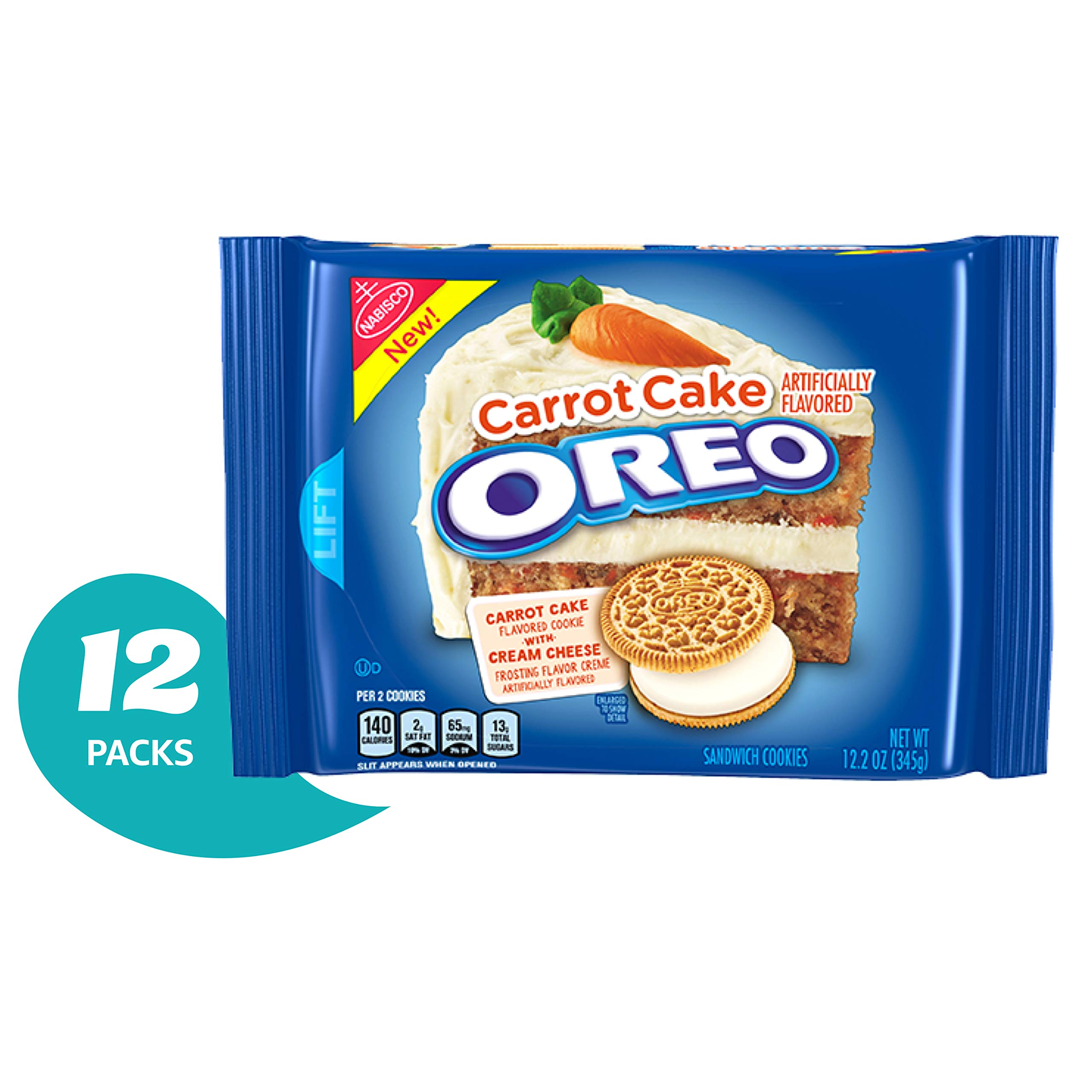 OREO Carrot Cake Cookie, 12 Count by Oreo (Image #4)