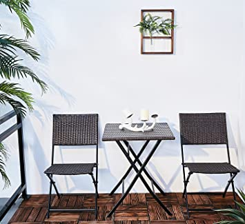 Genial Oakville Furniture Parma Style Rattan Patio Bistro Set, Weather Resistant  Outdoor Furniture Sets With Rust