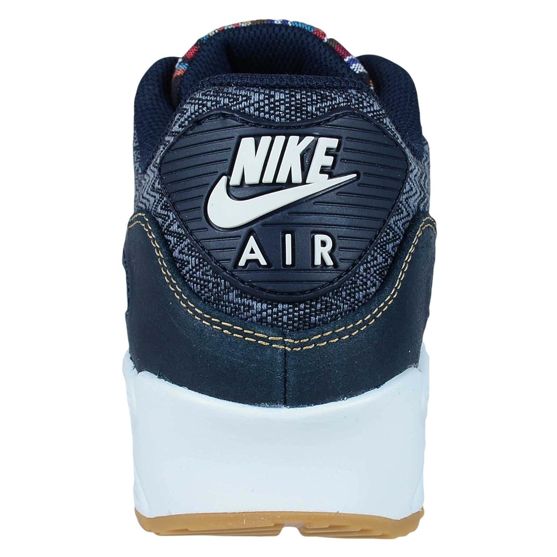 Nike 700155 402 Men AIR MAX 90 Premium Dark Obsidian: Amazon