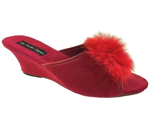 Sexy Boudoir - Zapatillas de estar por casa de Material Sintético para mujer: Amazon.es: Zapatos y complementos
