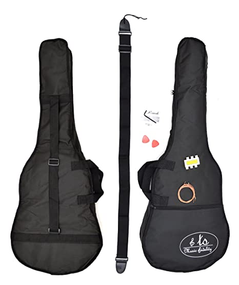 ts-ideen - 4/4 tamaño completo acústica guitarra occidental en morado y