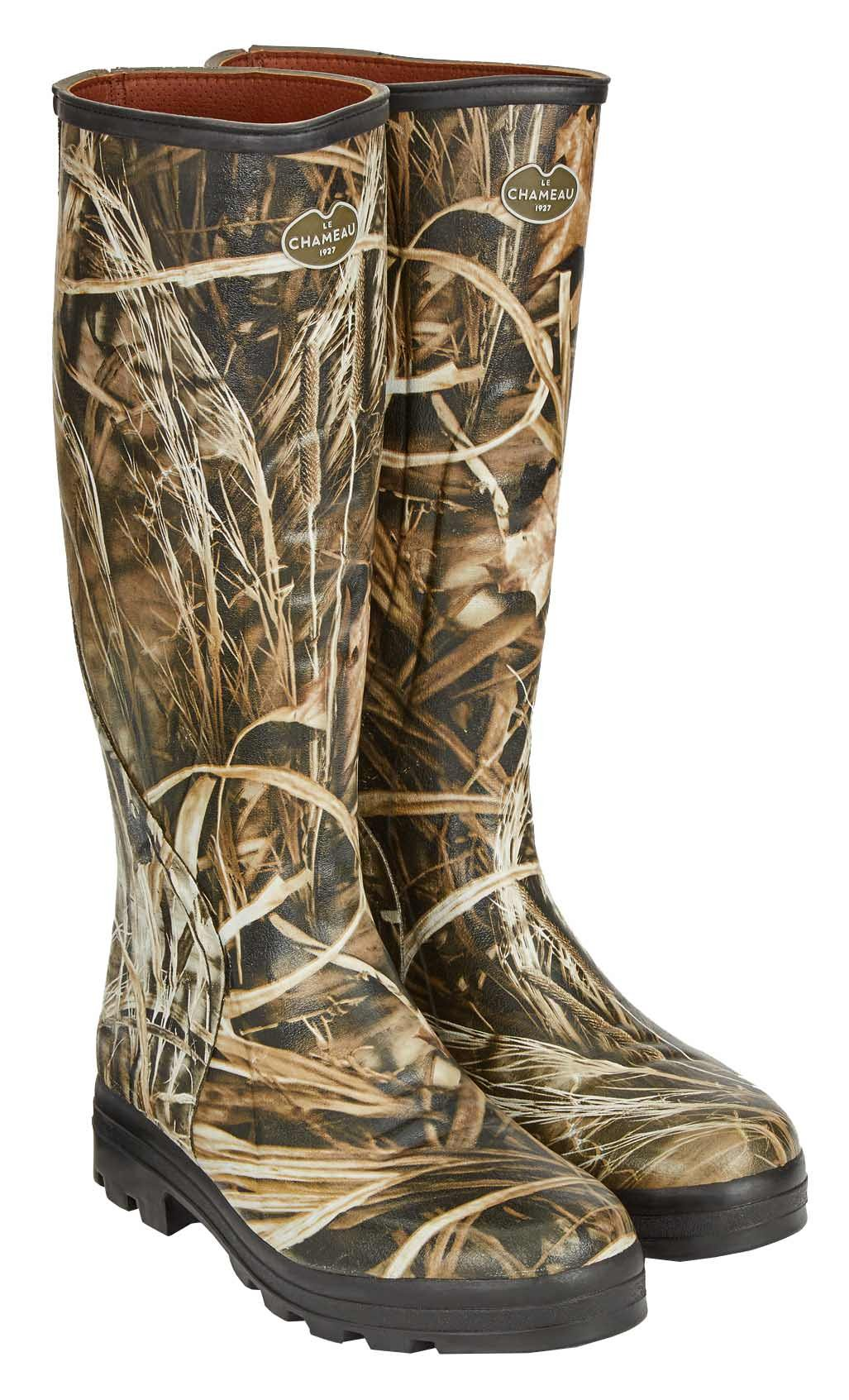 Men's TRAQUEUR CAMO ONSTEAM Lined Boots Traquer Camo- Real Tree/M - US 9