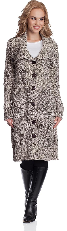 Merry Style C/árdigan Largo Chaqueta de Punto Invierno Mujer 92G
