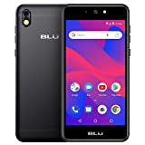 BLU Advance 5.2 HD - GSM Unlocked Smartphone with Android Oreo -Black