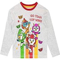 Top Wing Camiseta de Manga Larga para niños
